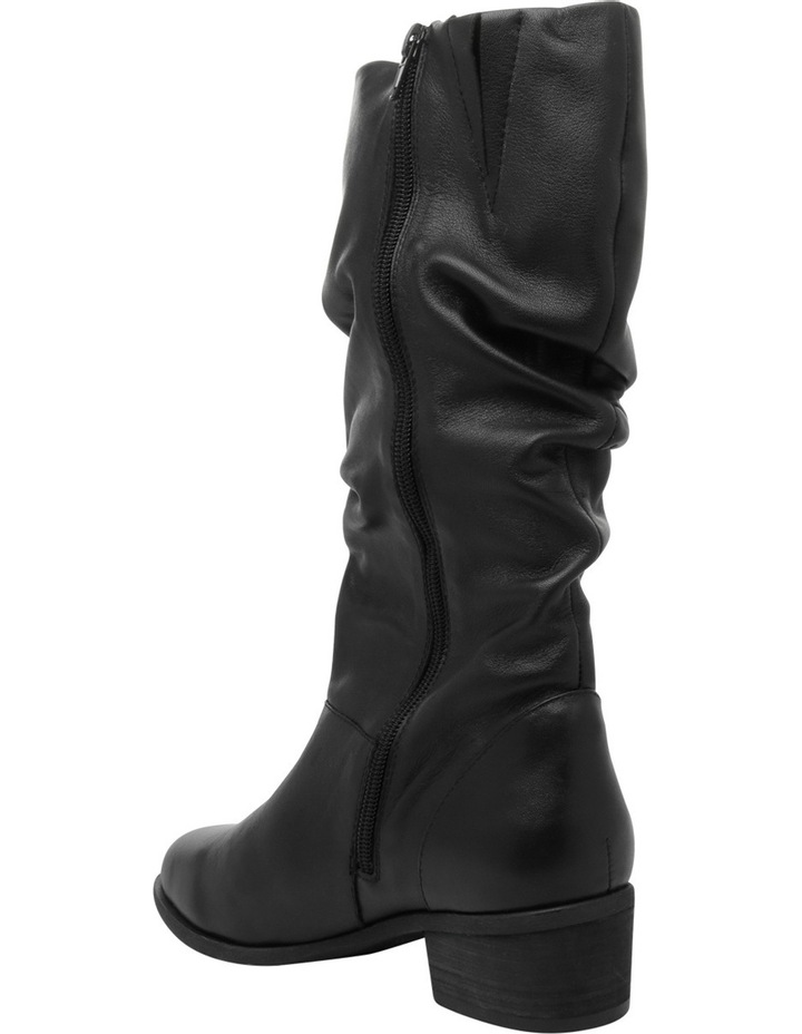 Hope Black Leather Boot image 2