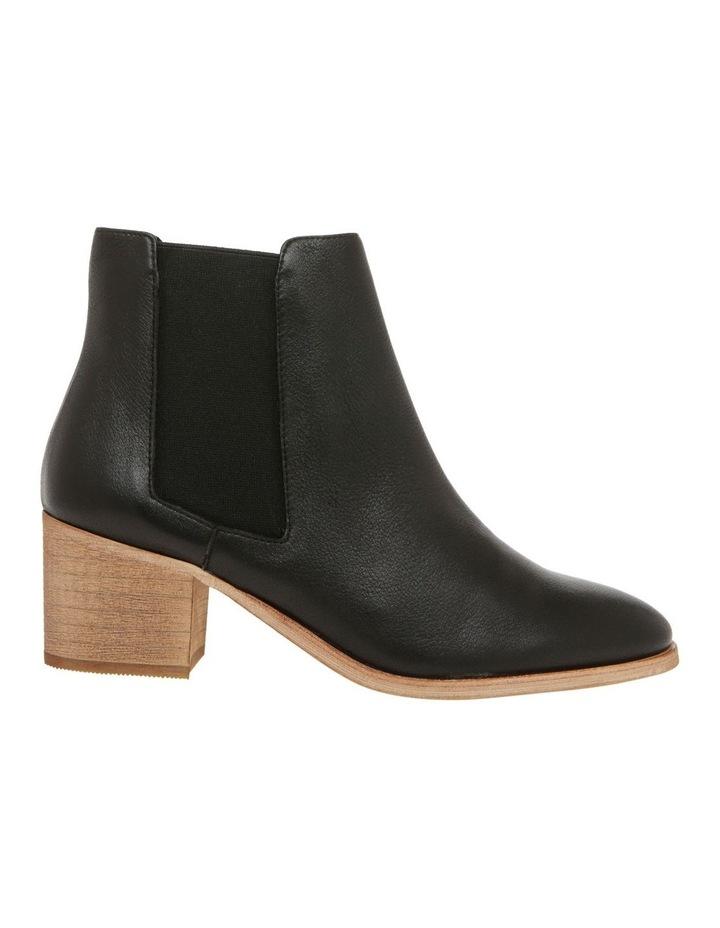 Scandi Black Leather Boot image 1