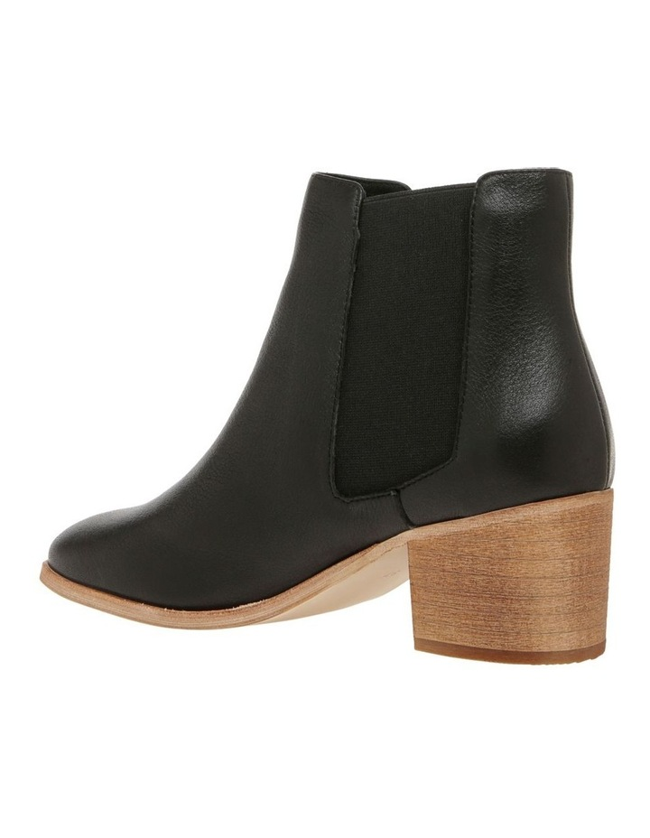 Scandi Black Leather Boot image 2