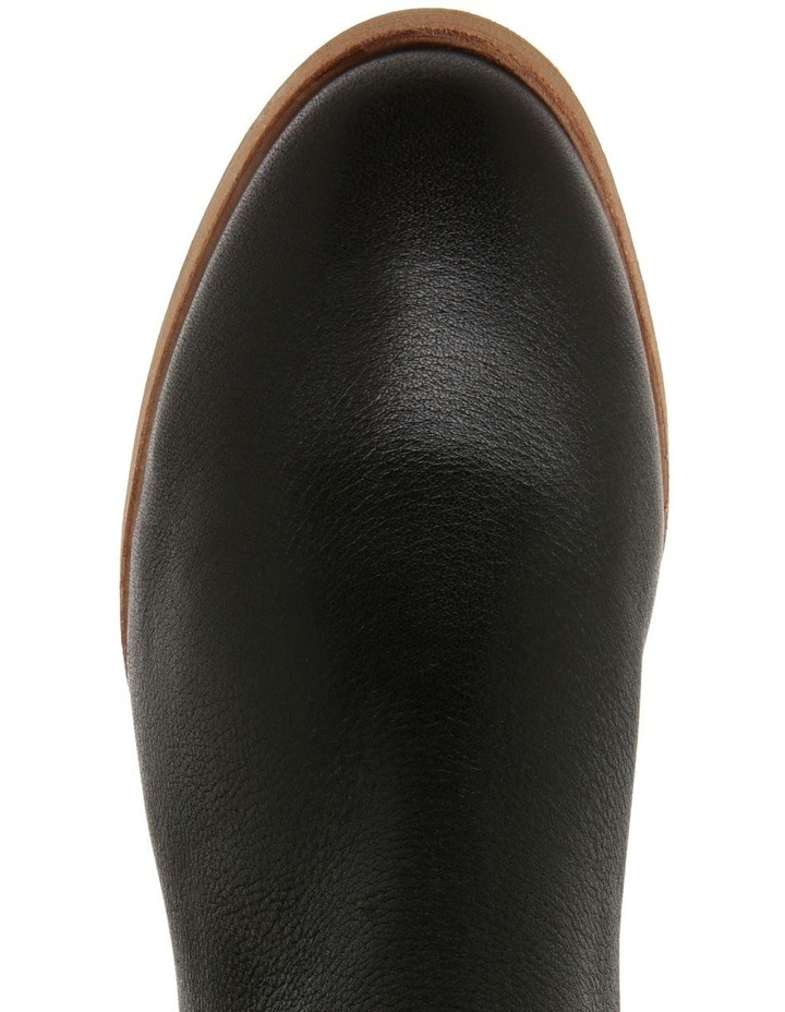 Scandi Black Leather Boot image 3