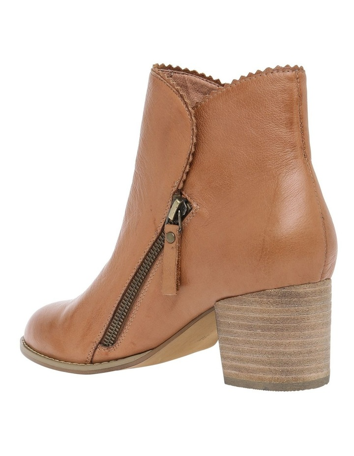 Shayna Tan Leather Boot image 2