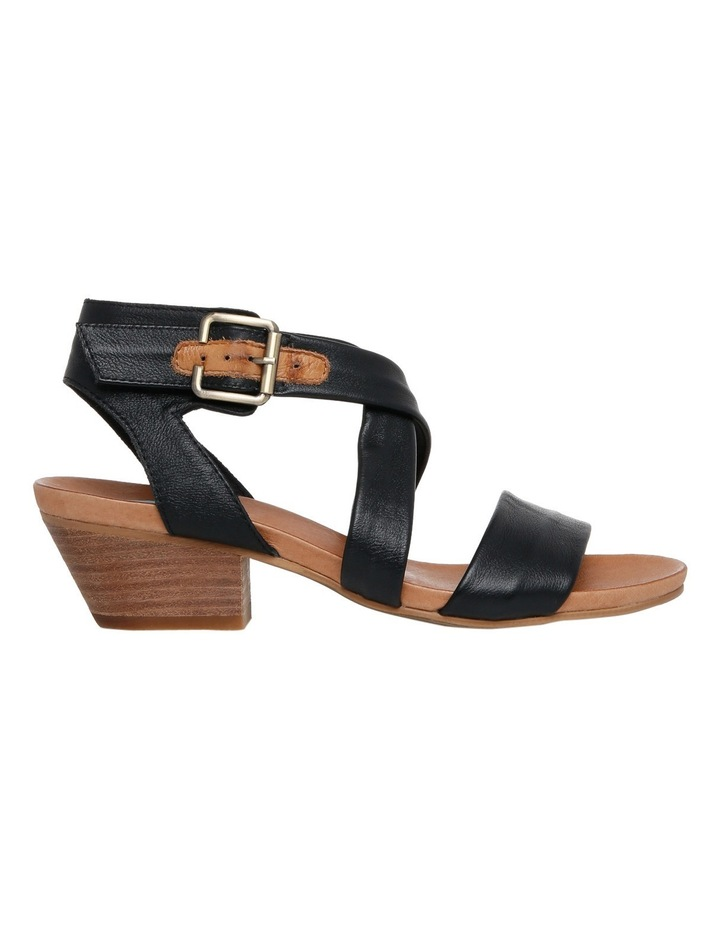 Cora Black/Tan Sandal image 1