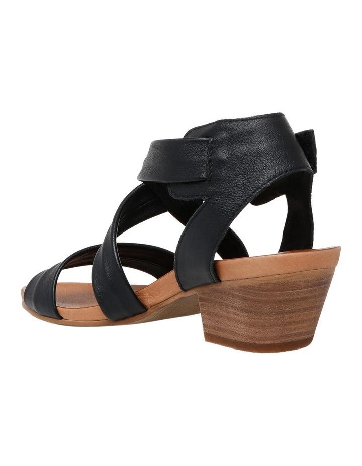 Cora Black/Tan Sandal image 2