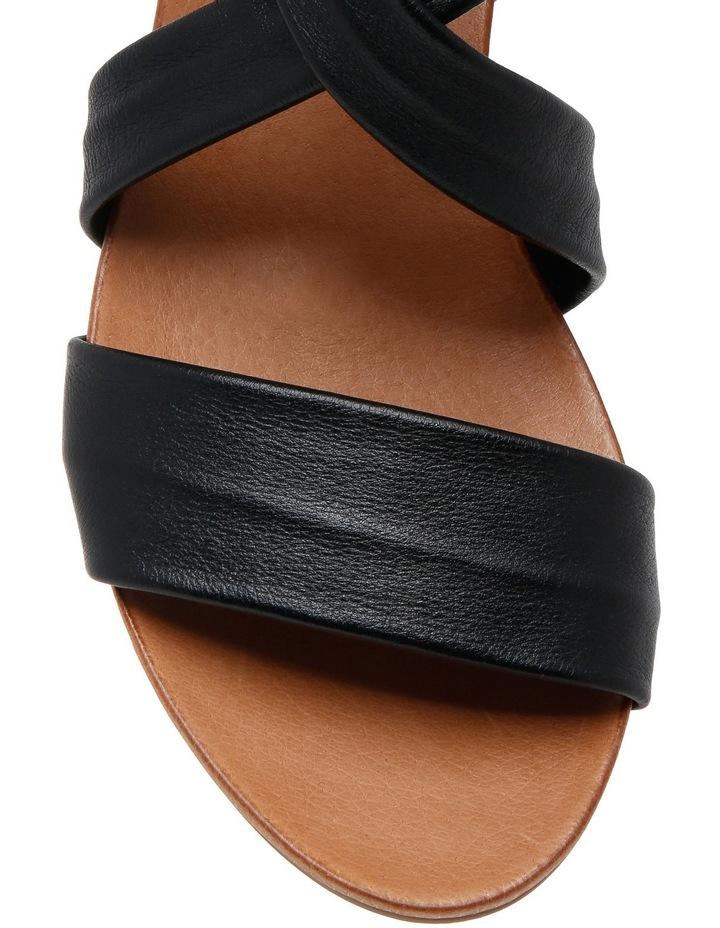Cora Black/Tan Sandal image 3