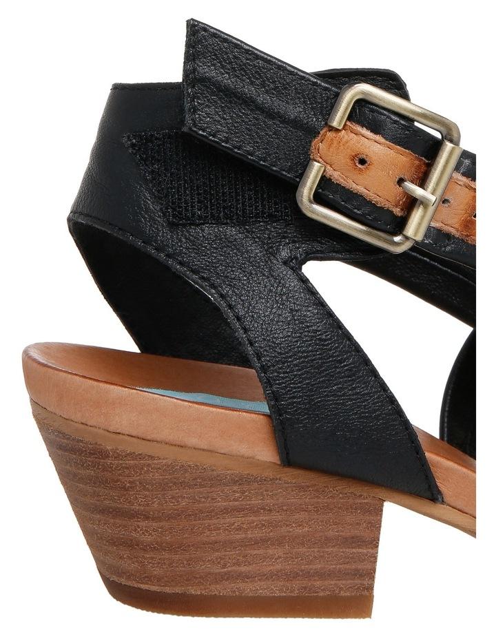 Cora Black/Tan Sandal image 4