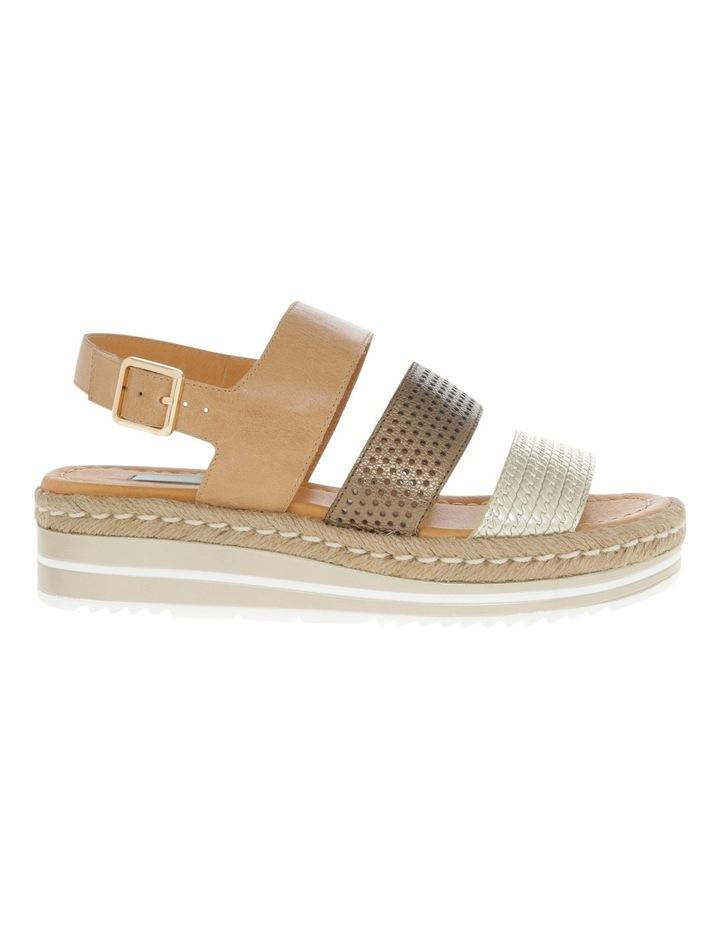 Ari Tan Leather Sandal image 1