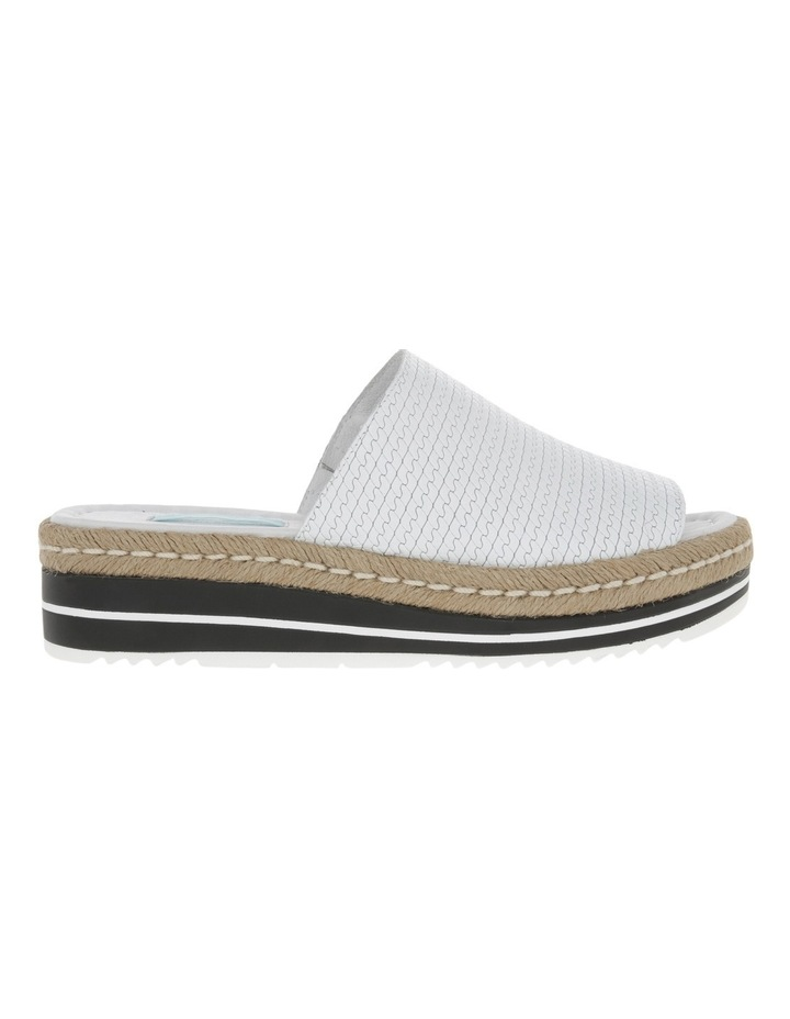 Alvie White Leather Sandal image 1