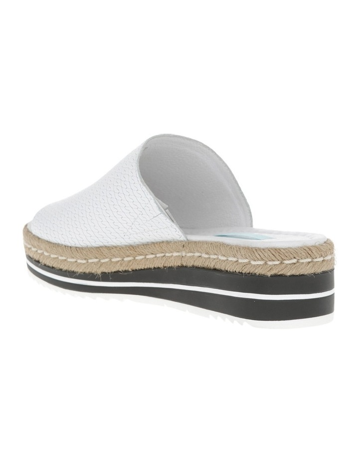 Alvie White Leather Sandal image 2
