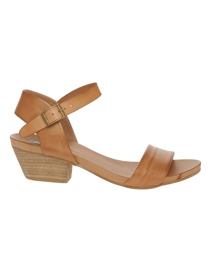 Connie Tan Leather Sandal image 1