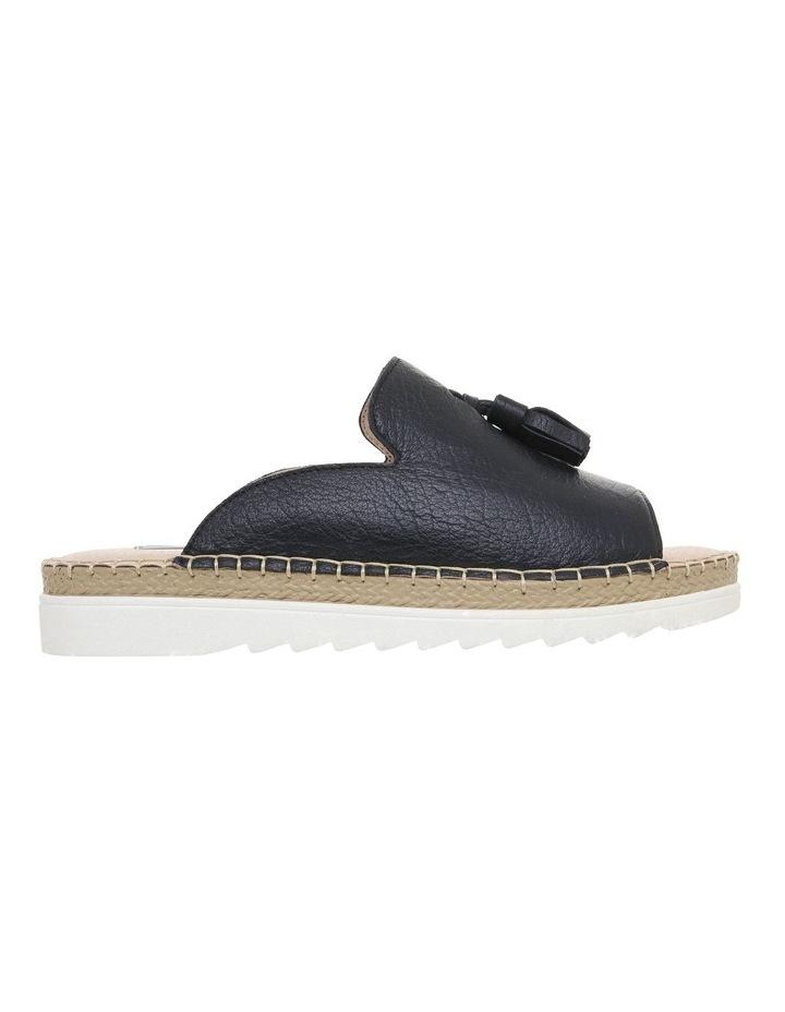 Madeleine Navy Leather Sandal image 1