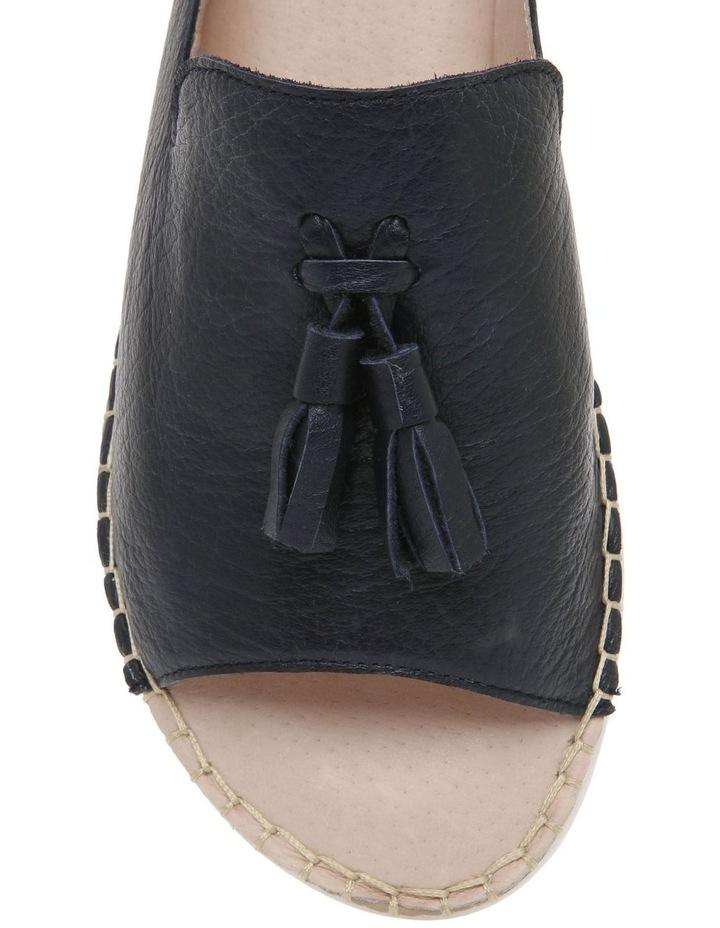 Madeleine Navy Leather Sandal image 3