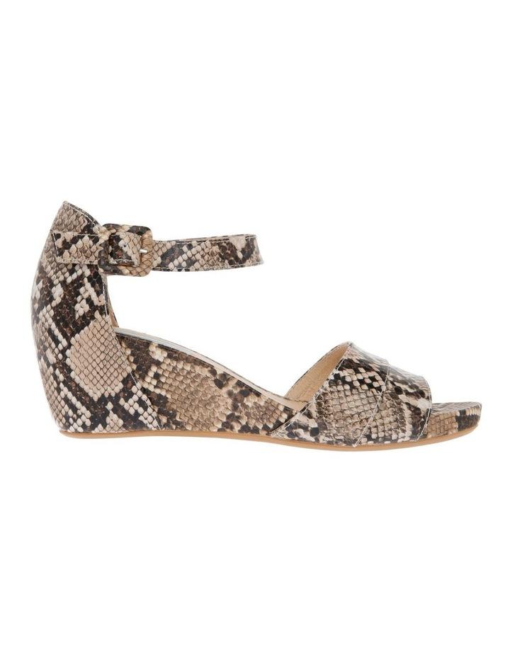 Gabi Snake Print Leather Sandal image 1