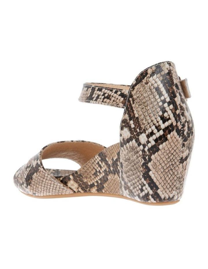 Gabi Snake Print Leather Sandal image 2
