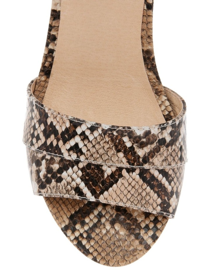 Gabi Snake Print Leather Sandal image 3