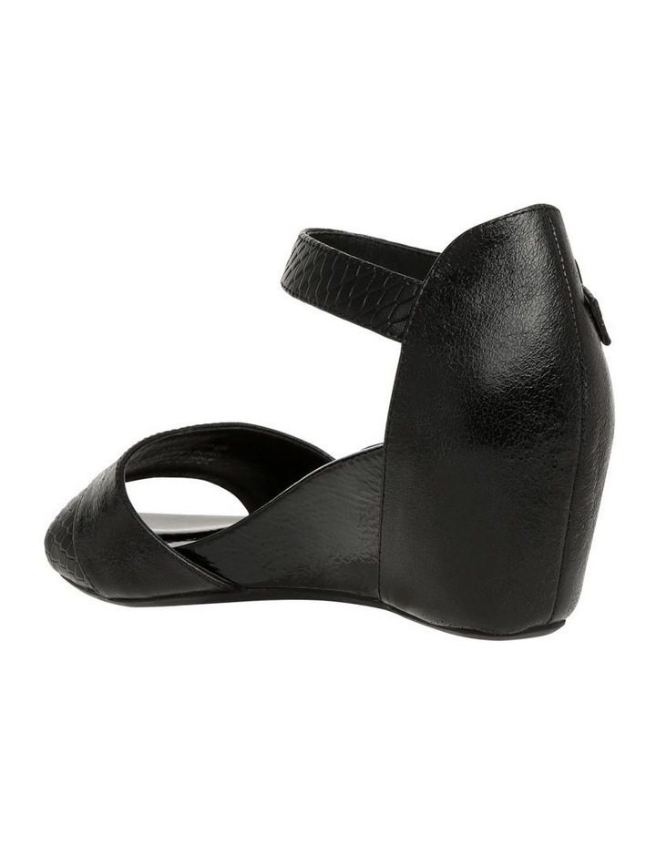 Gabi Black Leather Sandal image 2