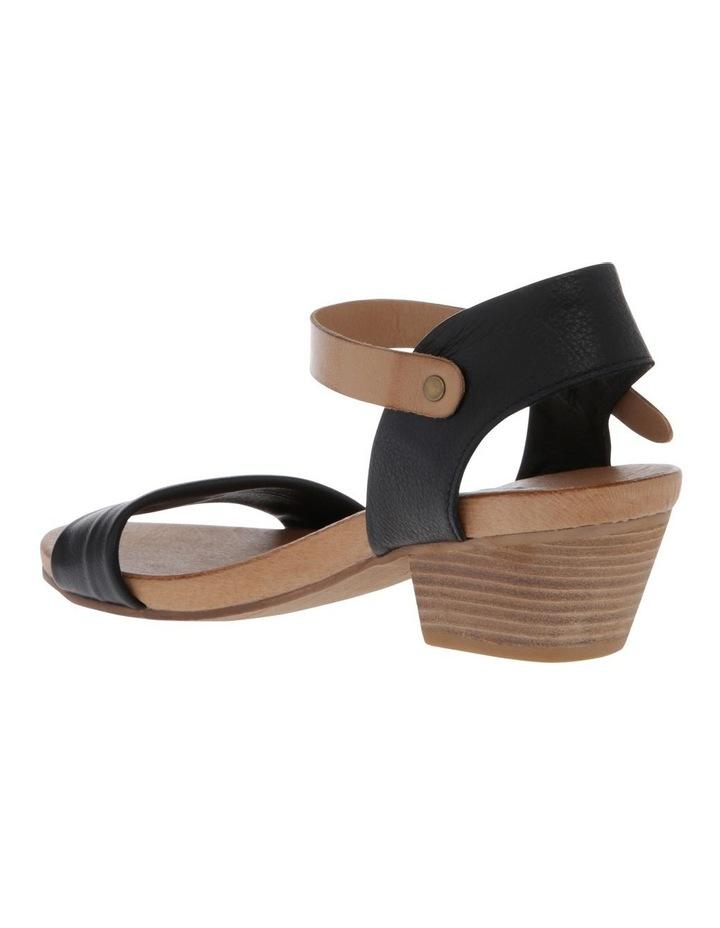 Contra Black/Tan Sandal image 2