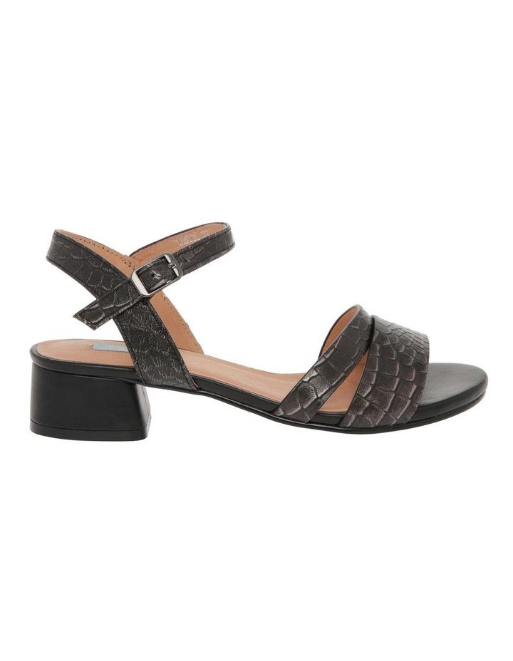 Sydney Black Leather Sandal image 1