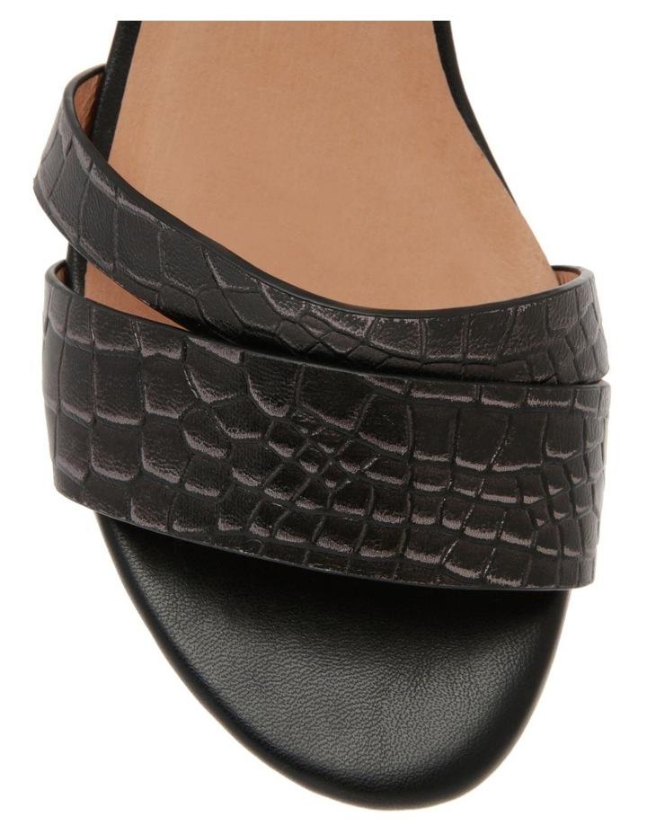 Sydney Black Leather Sandal image 2