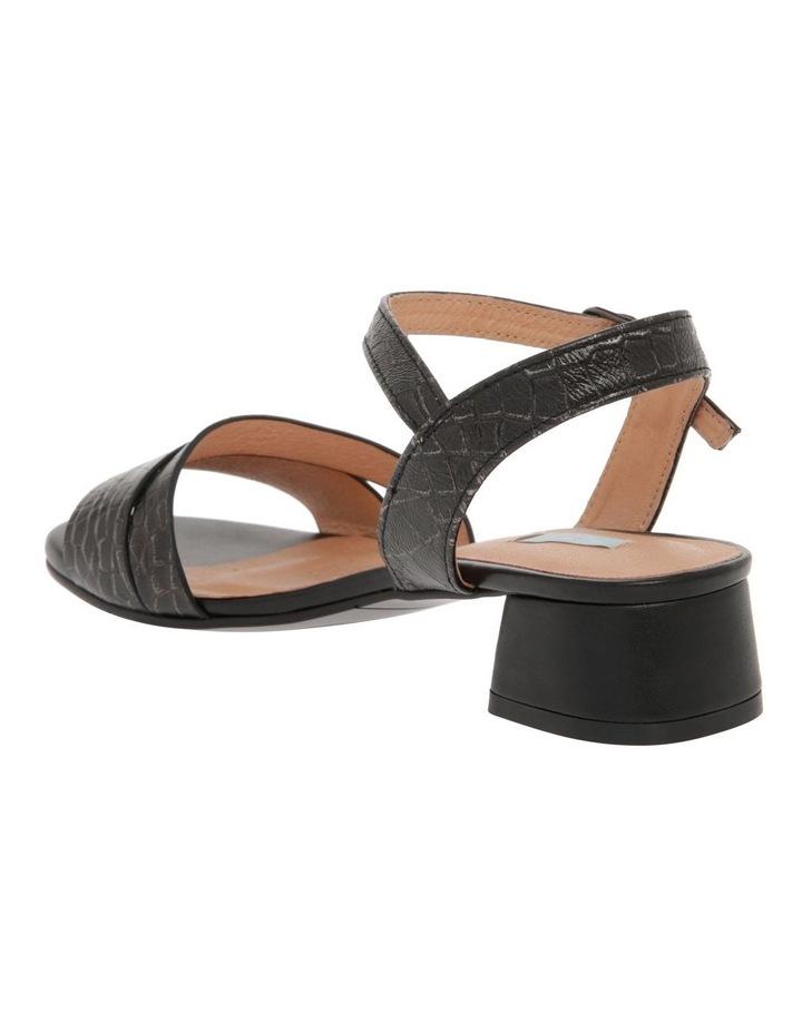 Sydney Black Leather Sandal image 3