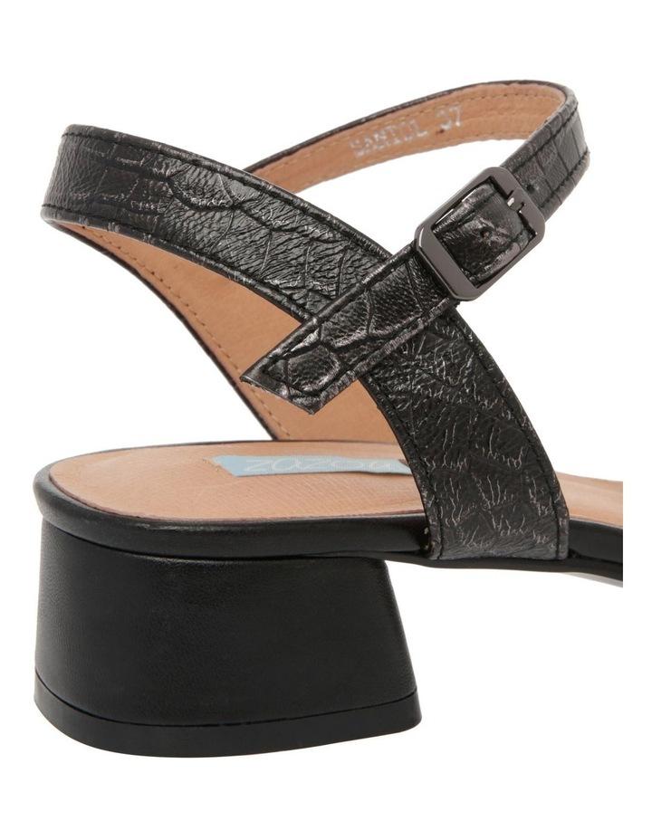 Sydney Black Leather Sandal image 4