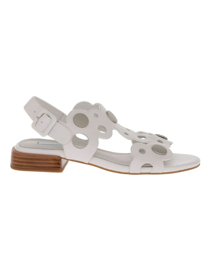 Stella White Leather Sandal image 1