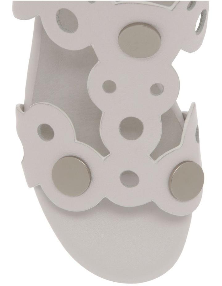Stella White Leather Sandal image 2