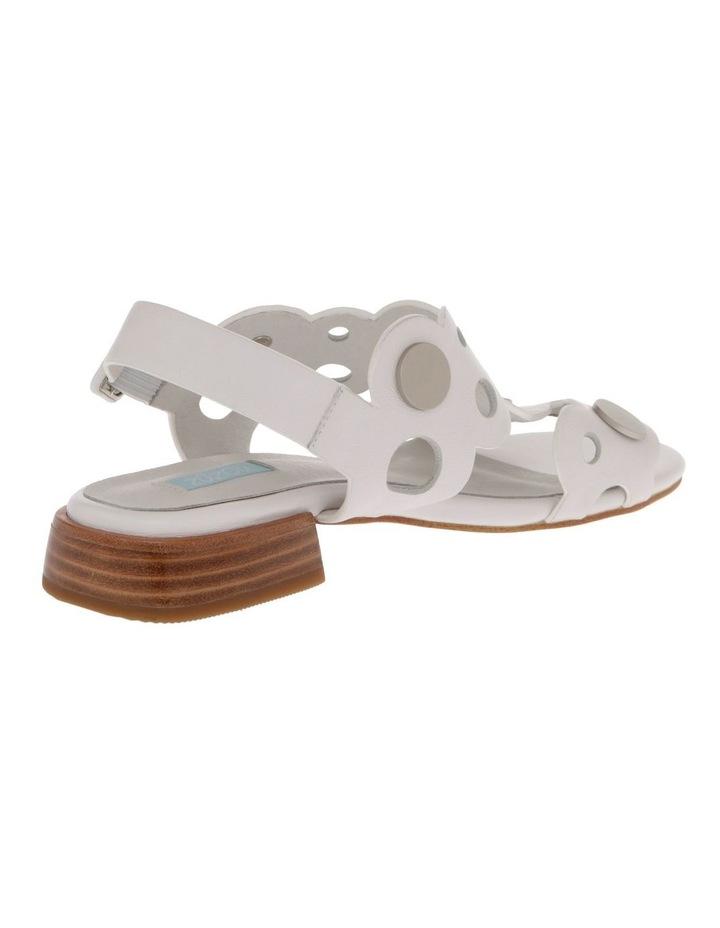 Stella White Leather Sandal image 3