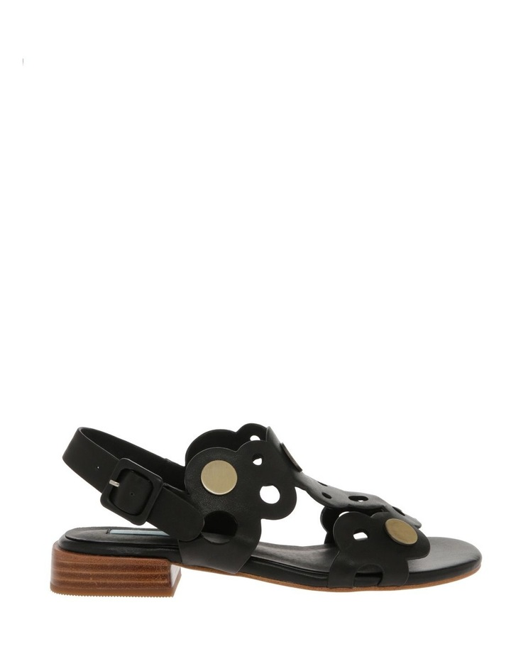 Stella Black Leather Sandal image 1