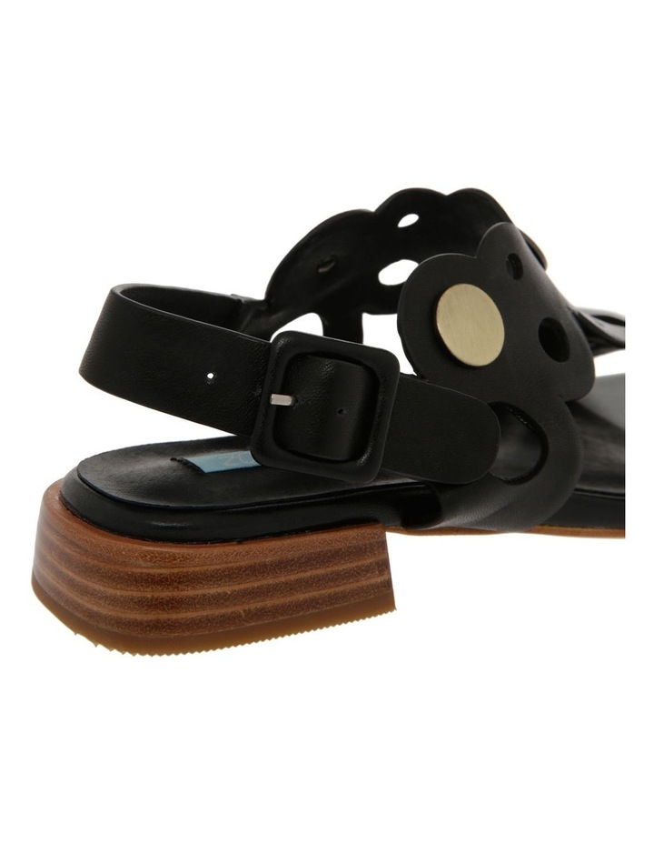 Stella Black Leather Sandal image 4