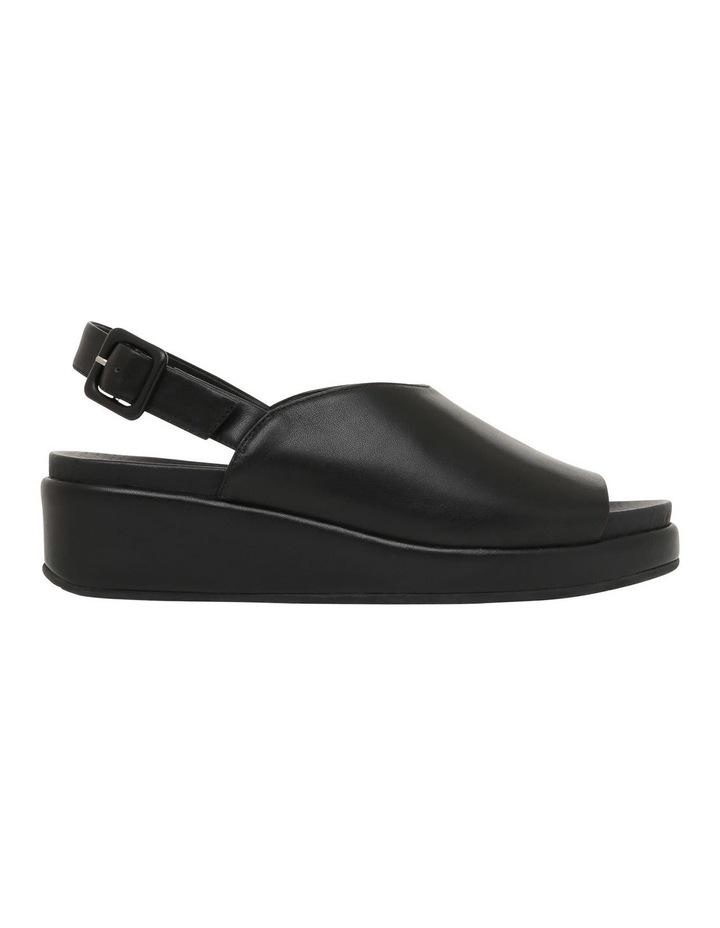 Sadie Black Leather Sandal image 1