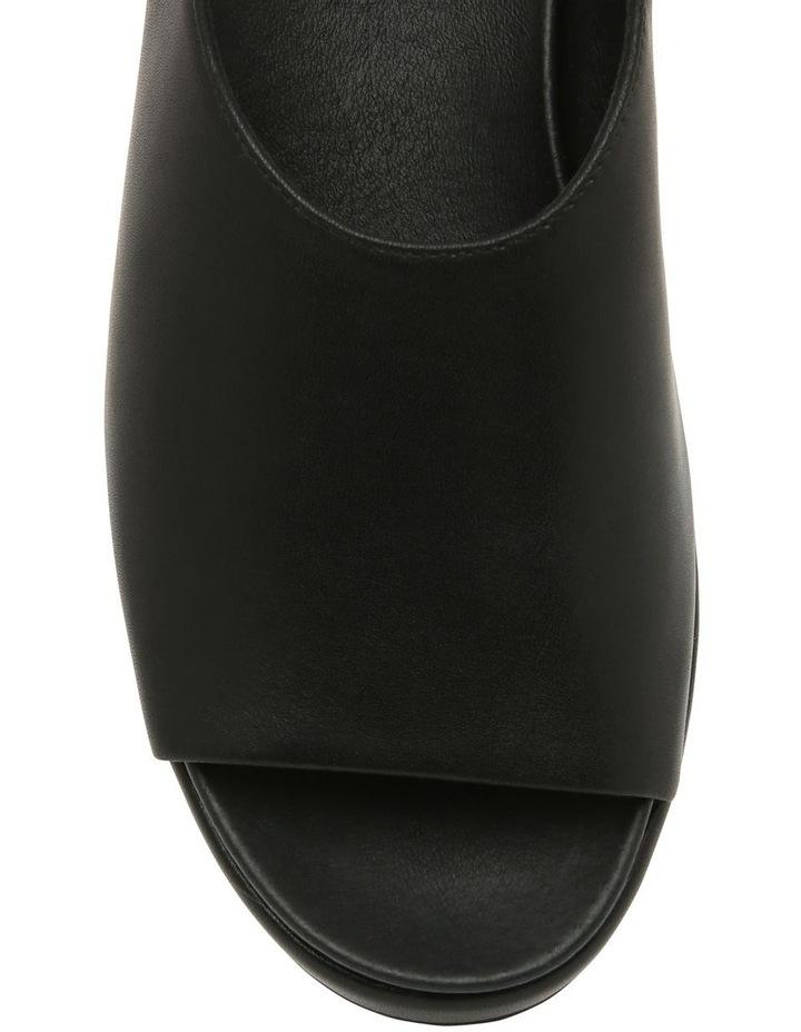 Sadie Black Leather Sandal image 2