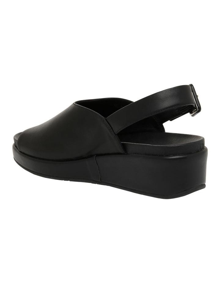 Sadie Black Leather Sandal image 3
