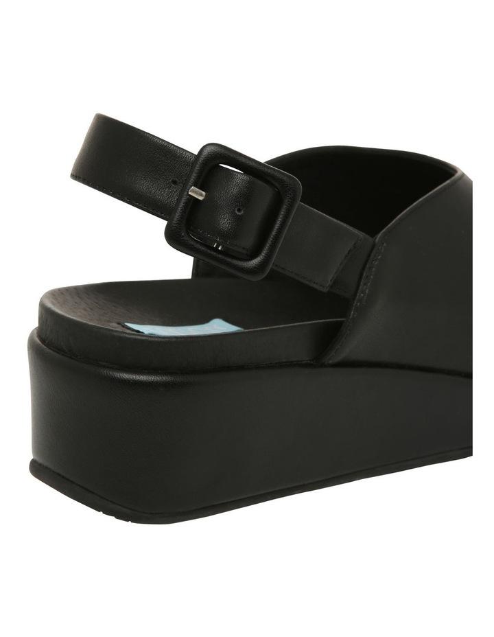 Sadie Black Leather Sandal image 4