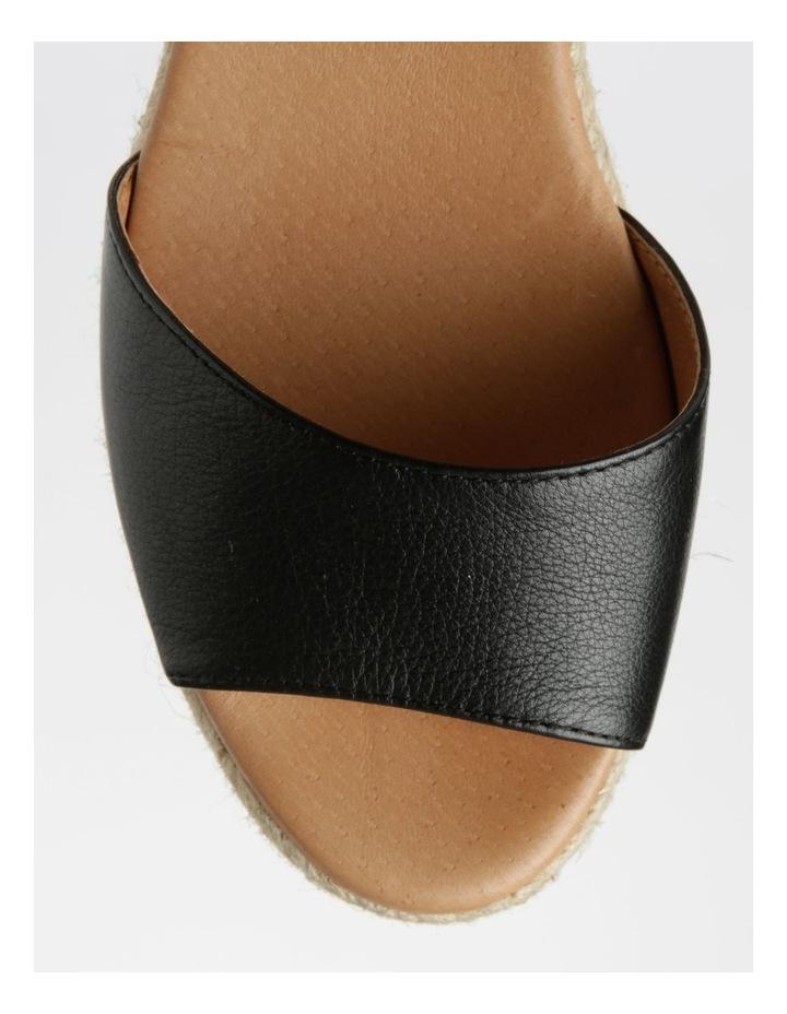 Serenity Black Leather Sandal image 2