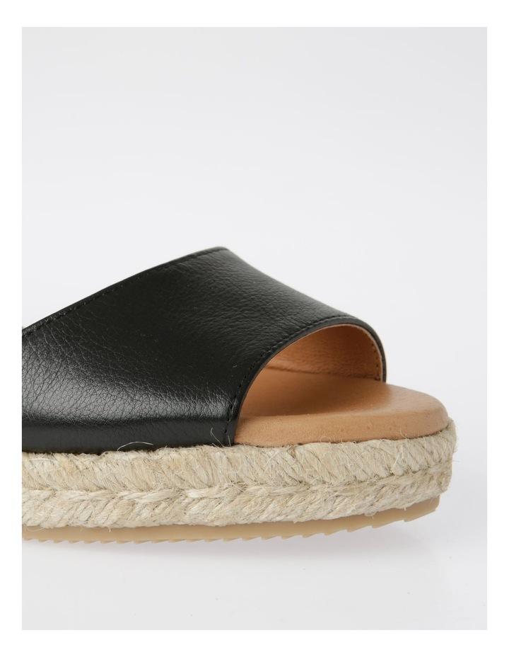 Serenity Black Leather Sandal image 5