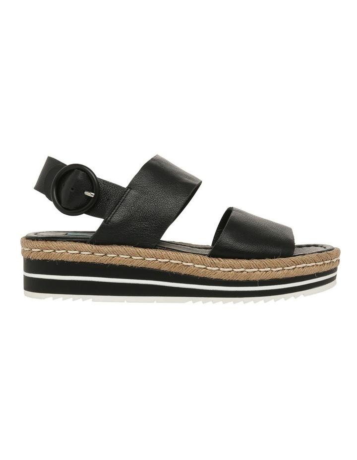 Aria Black Leather Sandal image 1