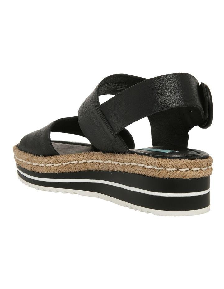 Aria Black Leather Sandal image 3