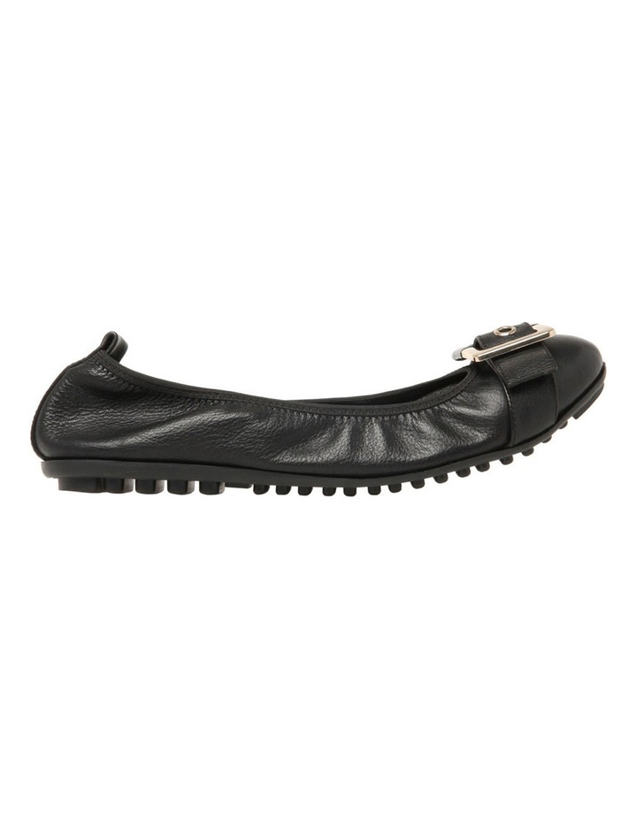 Spirit Black Leather Flat image 1