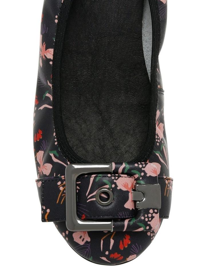 Spirit Black Floral Pump image 3