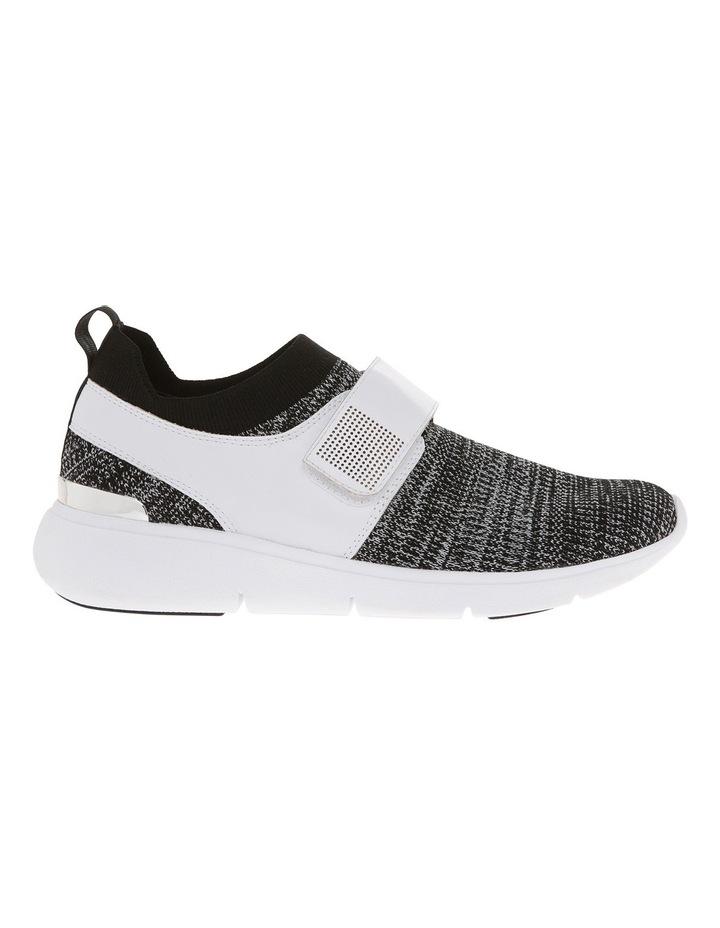 Rush Black/White Knit Sneaker image 1