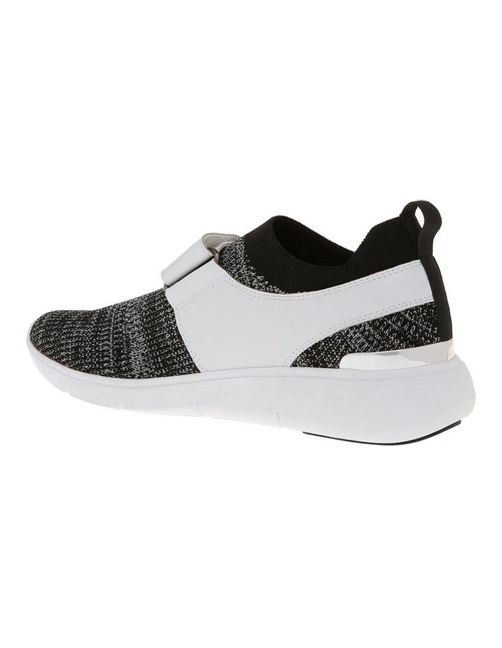 Rush Black/White Knit Sneaker image 2