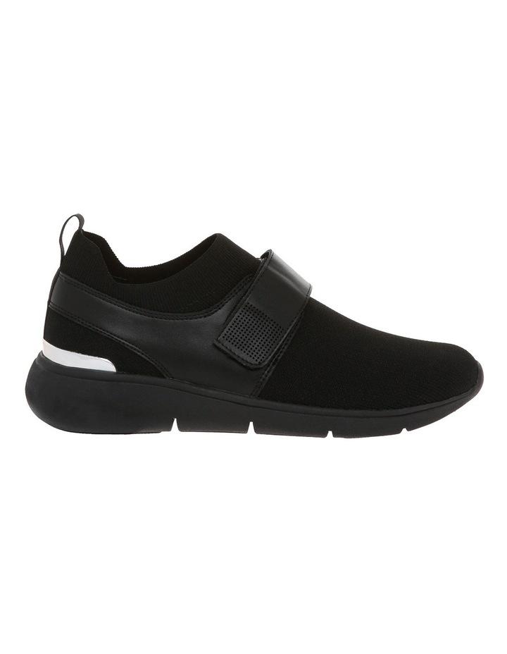 Rush Black Knit Sneaker image 1