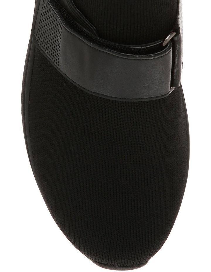 Rush Black Knit Sneaker image 3