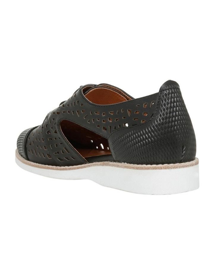 Swivel Black Leather Flat image 2
