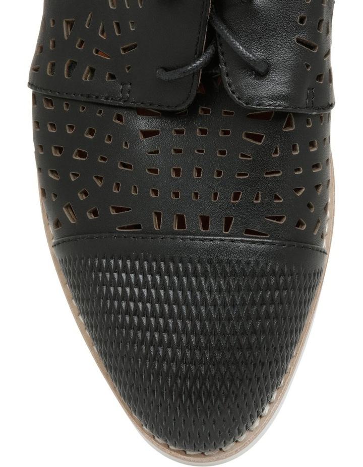Swivel Black Leather Flat image 3