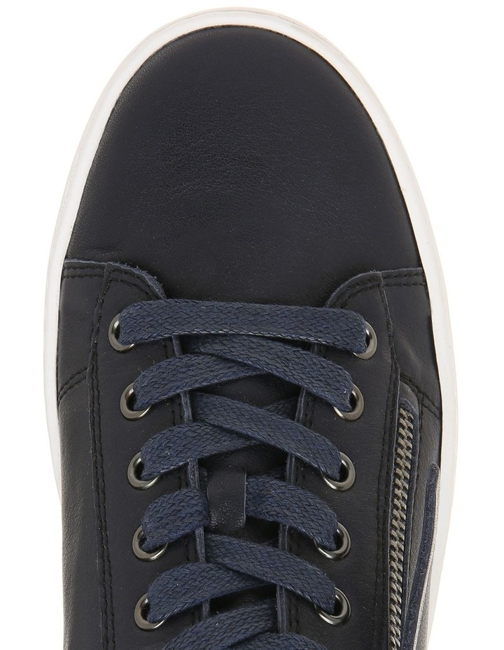 Zia Navy Leather Sneaker image 2