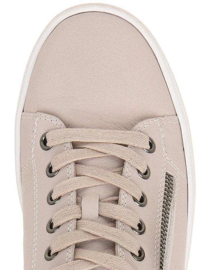 Zia Beige Leather Sneaker image 2