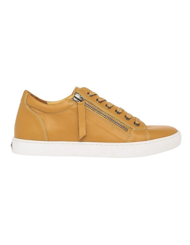 Zia Mustard Leather Sneaker image 1