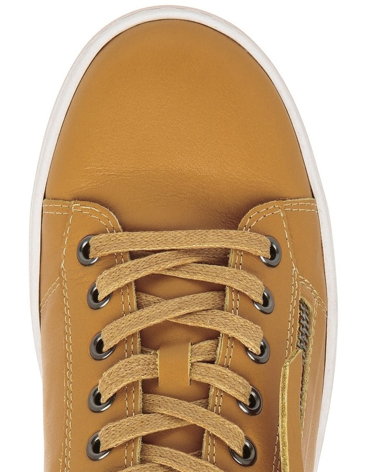 Zia Mustard Leather Sneaker image 2