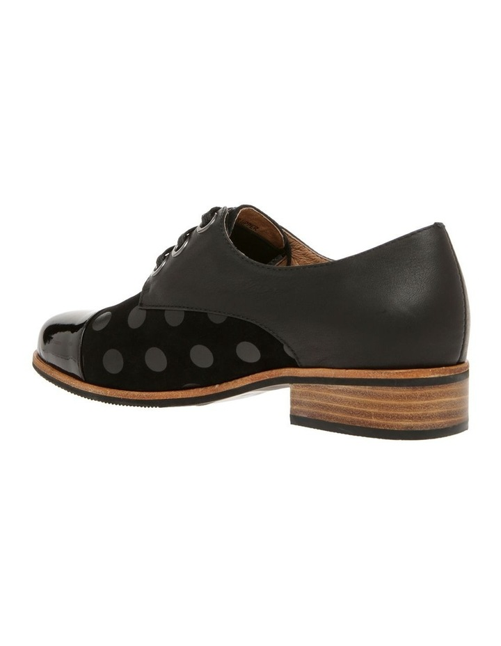 Amica Black Leather Flat image 2